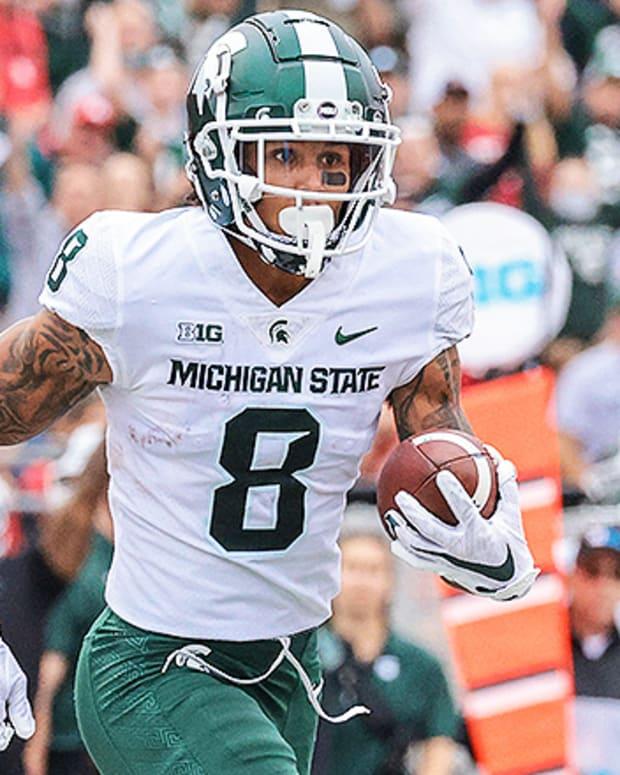 Jalen Nailor, Michigan State Spartans Football