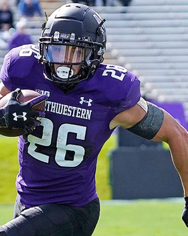 Evan Hull, Northwestern Wildcats Football