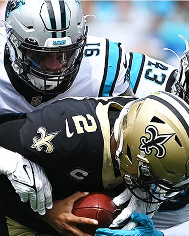 Carolina Panthers defense vs. New Orleans Saints