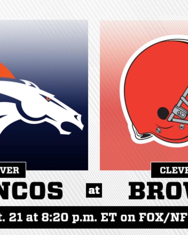 Thursday Night Football: Denver Broncos vs. Cleveland Browns Prediction and Preview