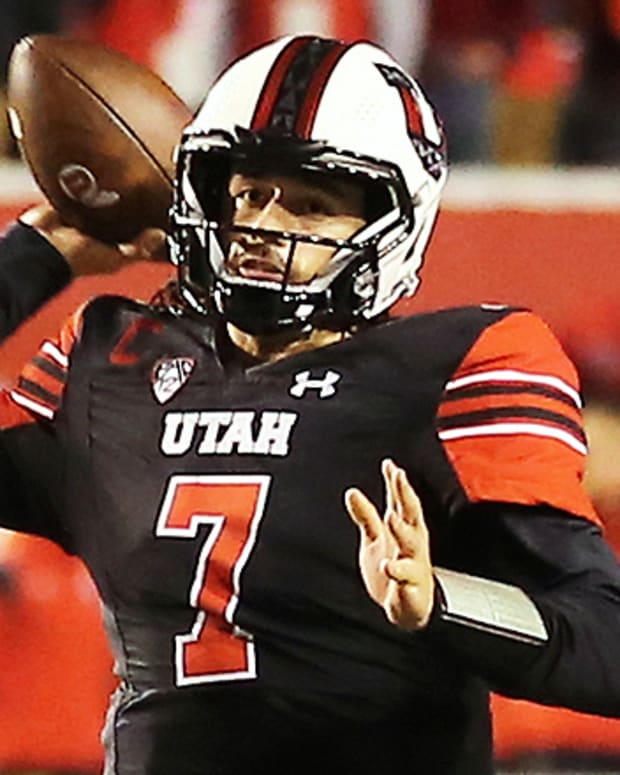 Cameron Rising, Utah Utes Football