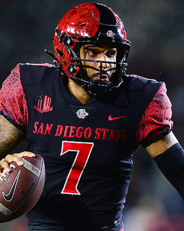 Lucas Johnson, San Diego State Aztecs Football