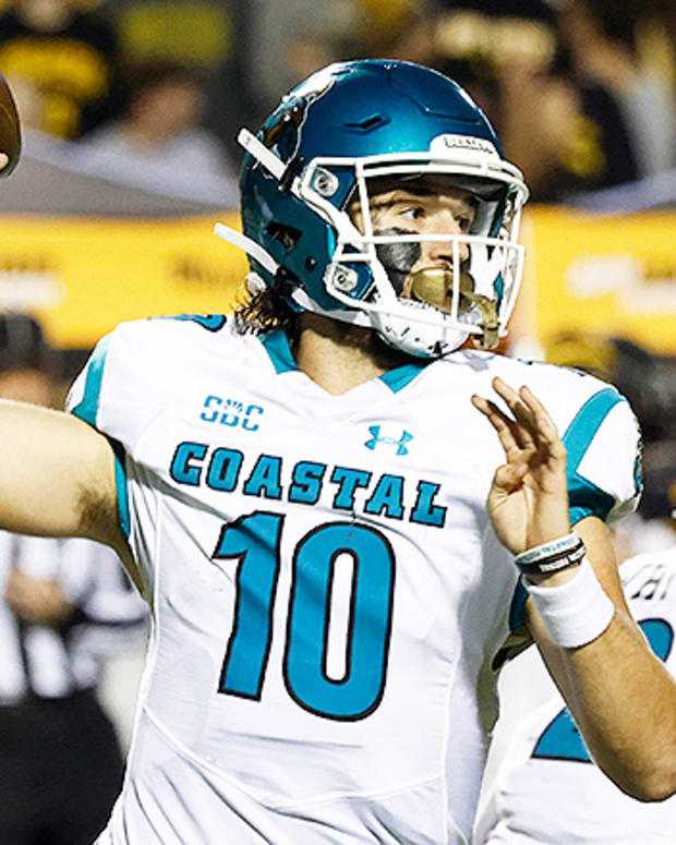 Grayson McCall, Coastal Carolina Chanticleers Football