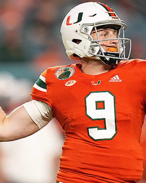 Tyler Van Dyke, Miami Hurricanes Football