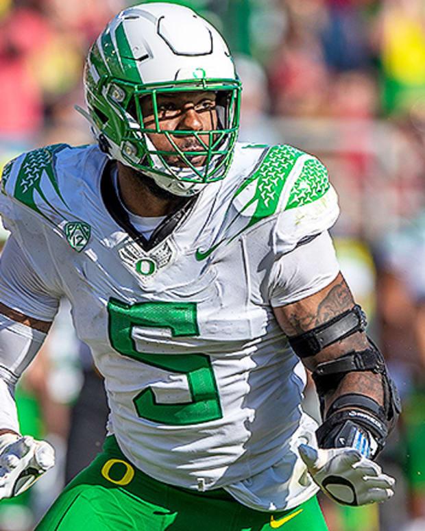 Kayvon Thibodeaux, Oregon Ducks Football