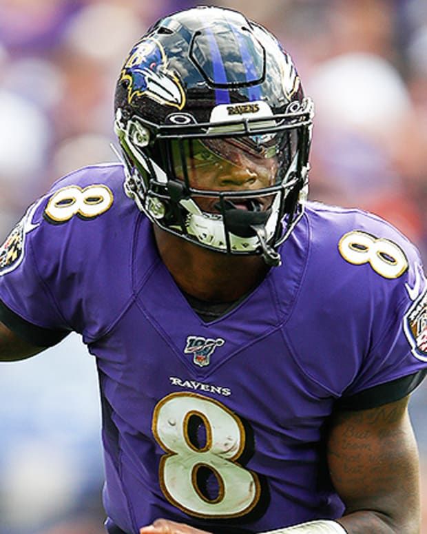 Quarterback Rankings Week 13: Lamar Jackson