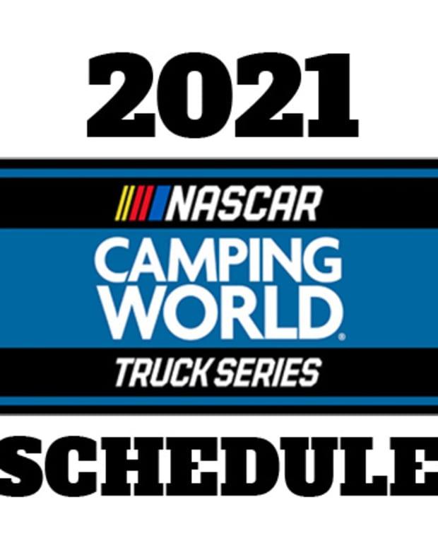 2021 NASCAR Camping World Truck Series Schedule