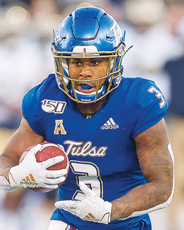 Shamari Brooks, Tulsa Golden Hurricane Football