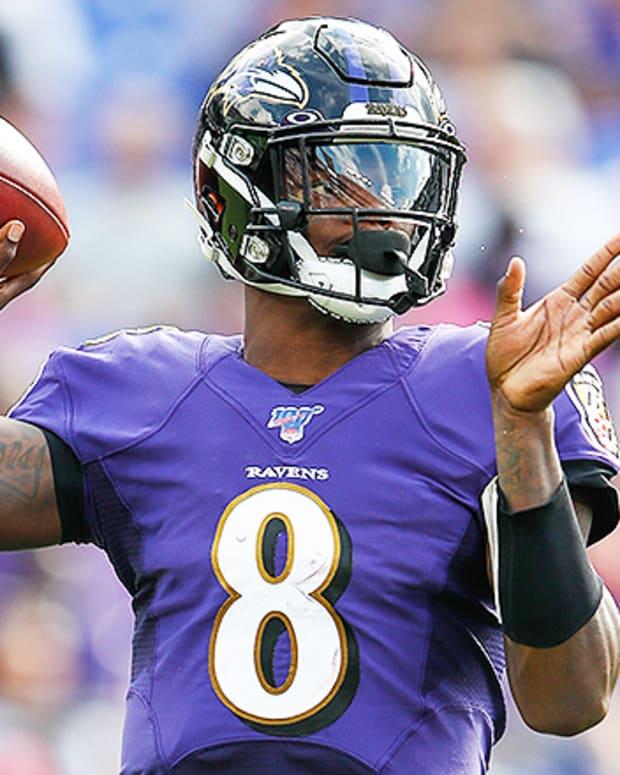 Quarterback Rankings Week 1: Lamar Jackson