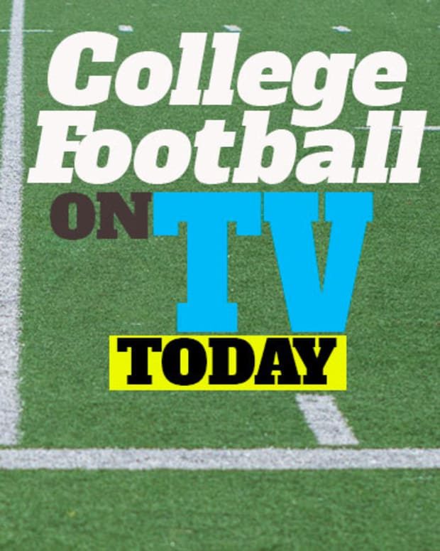 College Football on TV Today