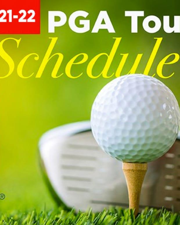2021-22 PGA Tour Schedule