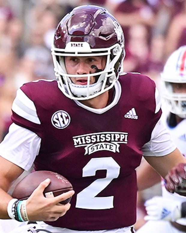 Will Rogers, Mississippi State Bulldogs Football