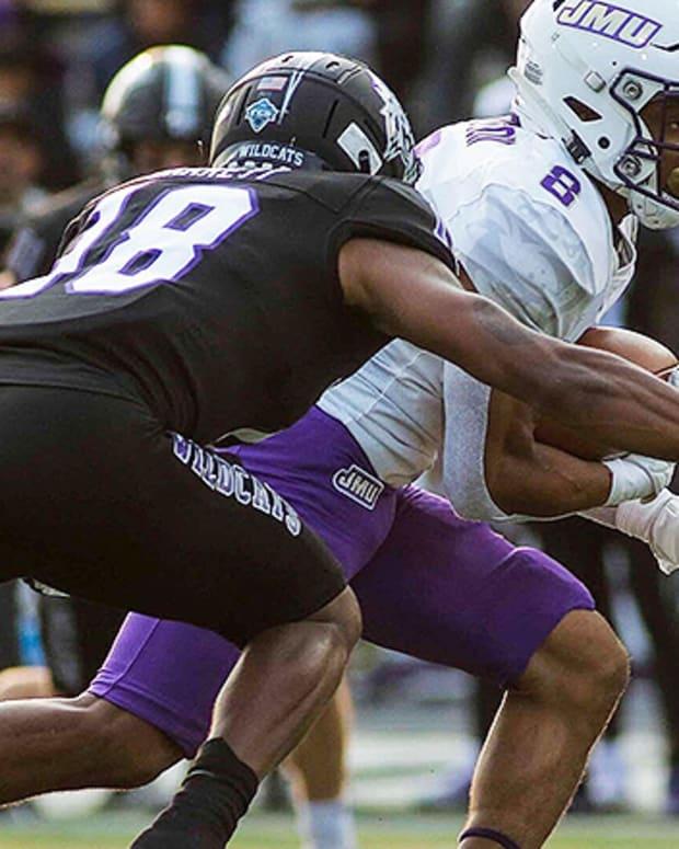 Kris Thornton, James Madison Dukes Football vs. Weber State Wildcats