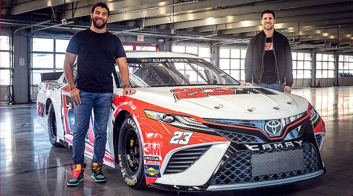 NASCAR's Dream Team: Michael Jordan, Denny Hamlin and Bubba Wallace Partner for Cup Series Team