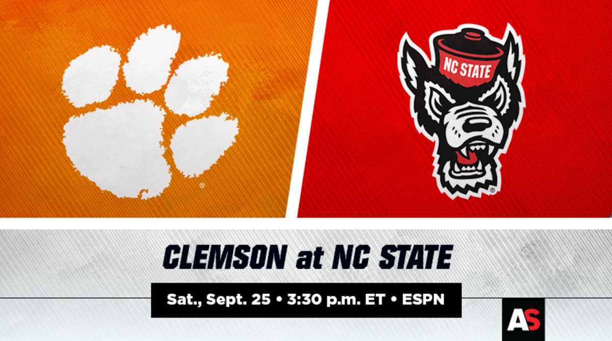 Clemson Tigers vs. NC State Wolfpack Prediction and Preview