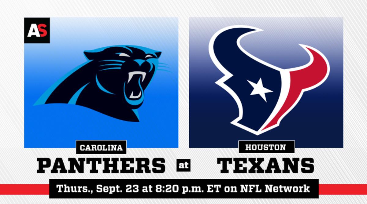 Thursday Night Football: Carolina Panthers vs. Houston Texans Prediction and Preview
