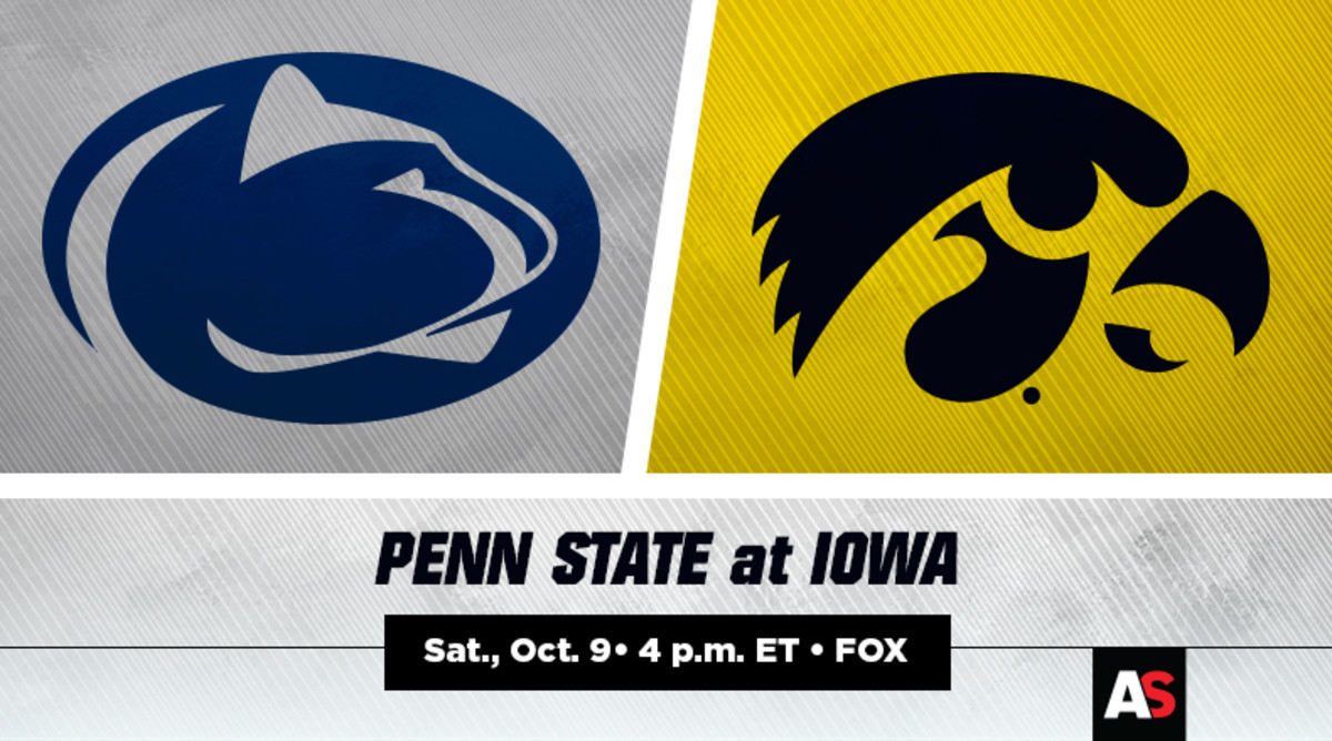 Undefeated Nittany Lions, Hawkeyes meet in Kinnick Stadium for arguably the biggest game ever between these two Big Ten teams