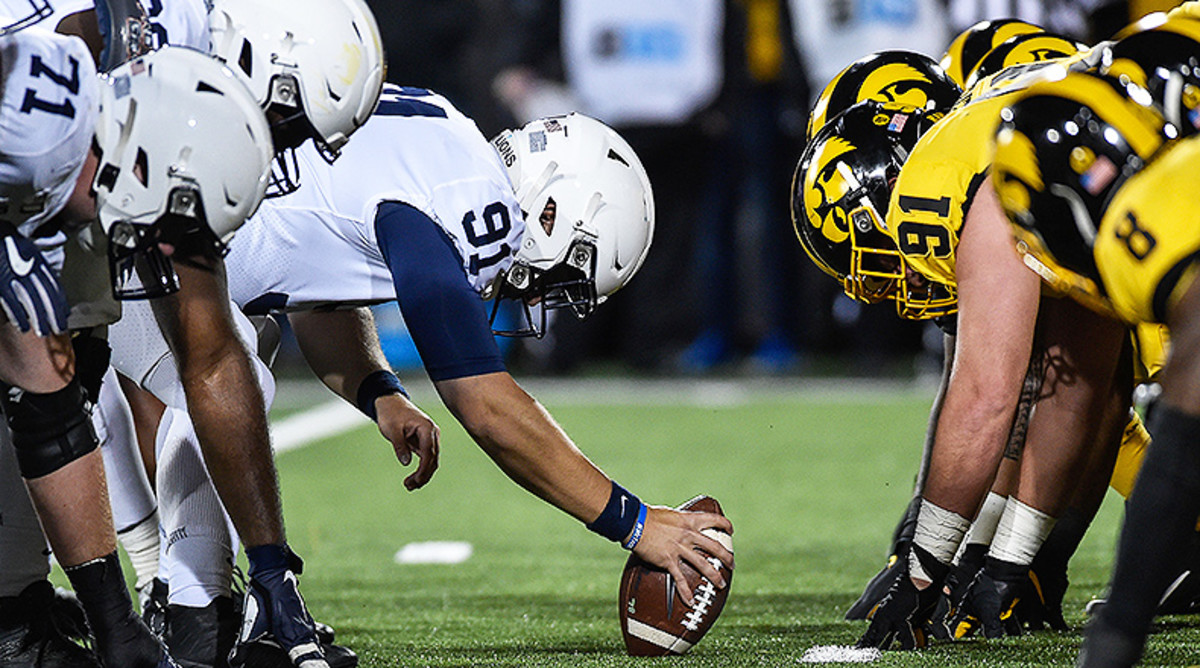 Penn State Nittany Lions vs. Iowa Hawkeyes Football from Oct. 12, 2019