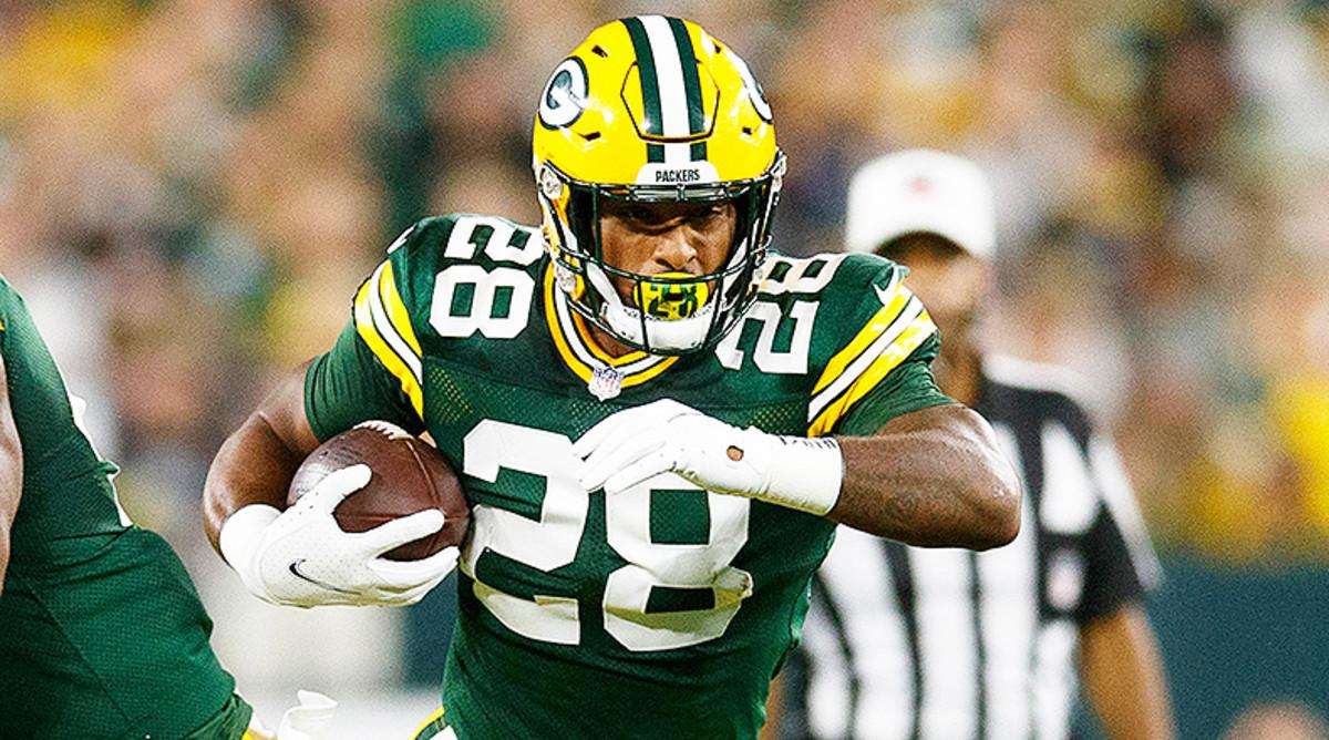 AJ Dillon, Green Bay Packers