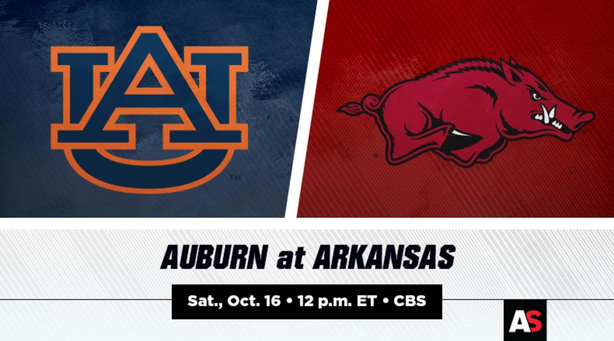 Auburn Tigers vs. Arkansas Razorbacks Football Prediction and Preview
