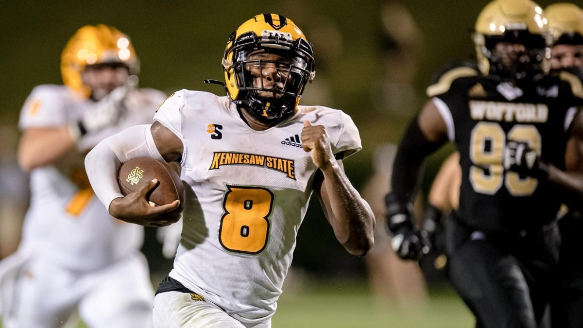 Kennesaw State sophomore quarterback Xavier Shepherd has been a leader all season long for the Owls who have a huge Big South matchup at North Carolina A&T on Saturday