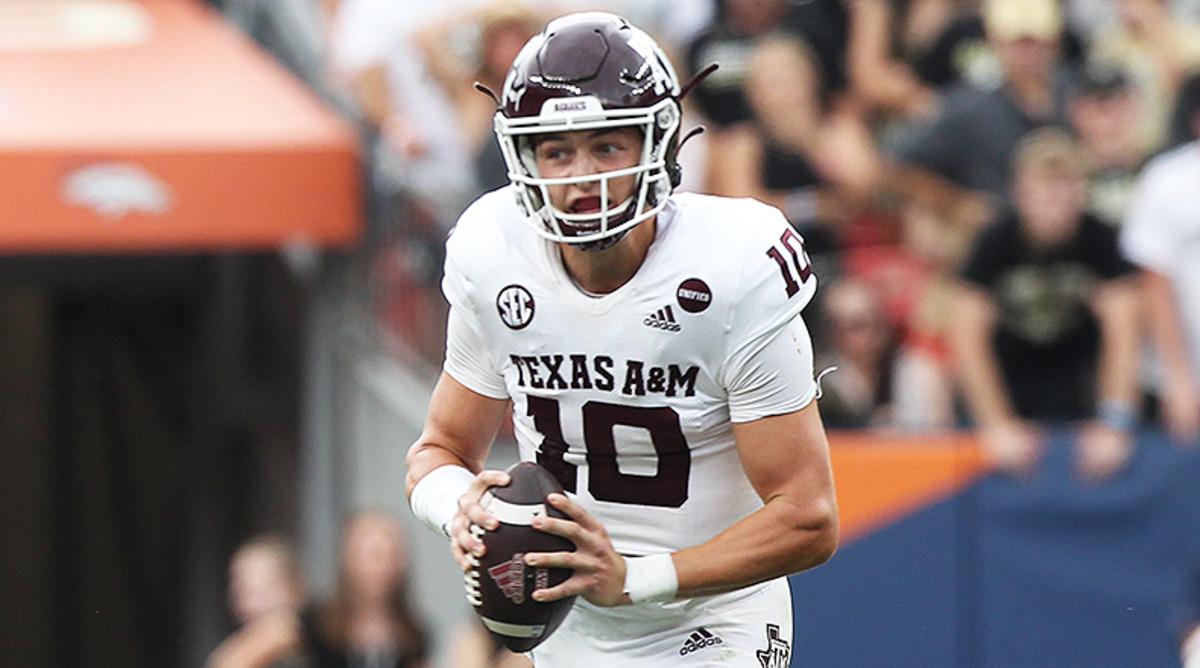 Zach Calzada, Texas A&M Aggies Football