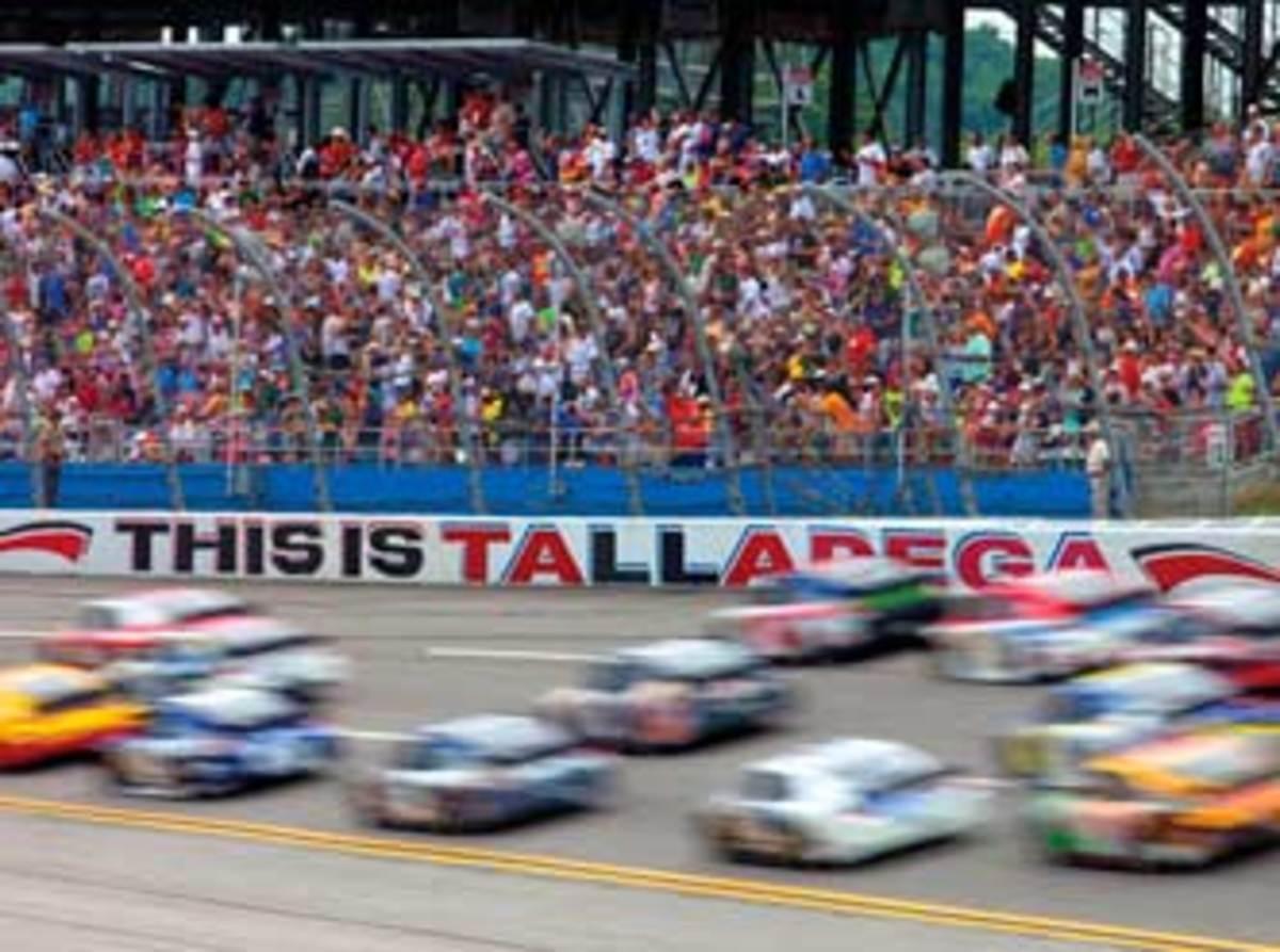 Talladega Superspeedway race track