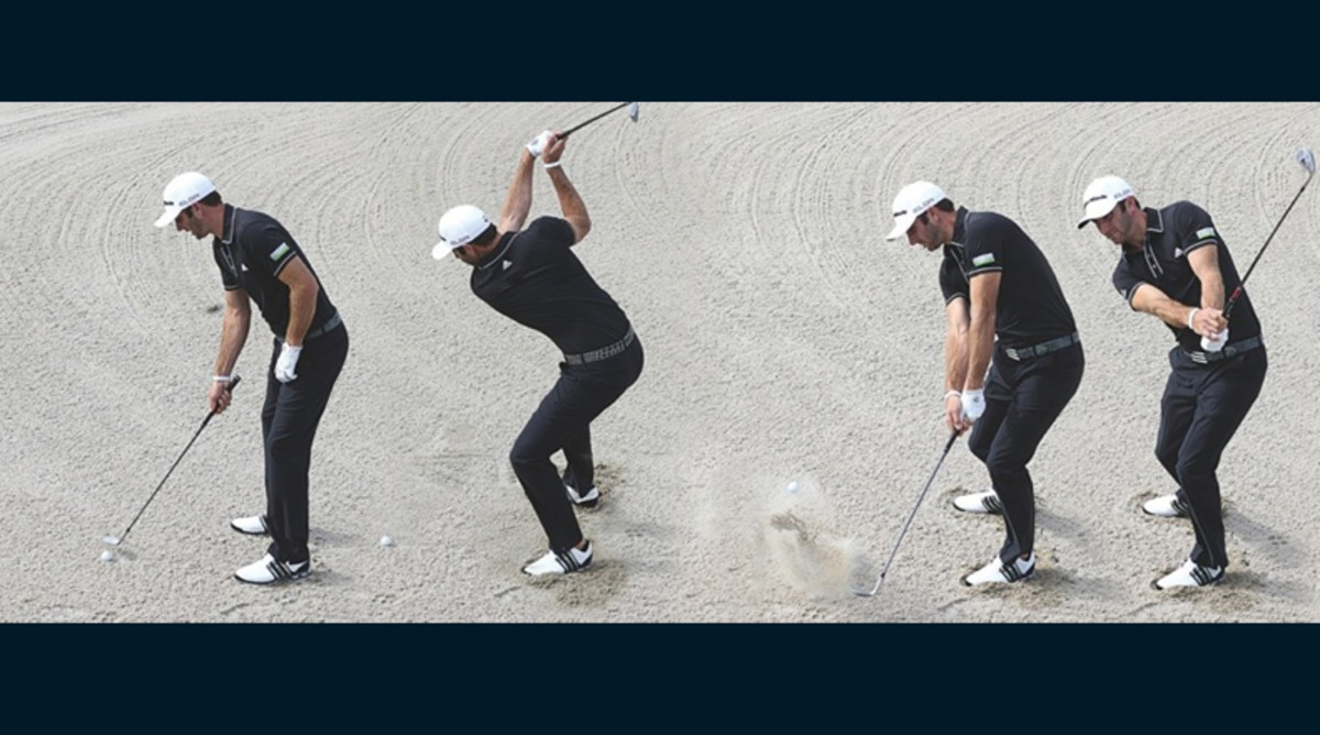 Golf Lesson: Bunker Play with Dustin Johnson