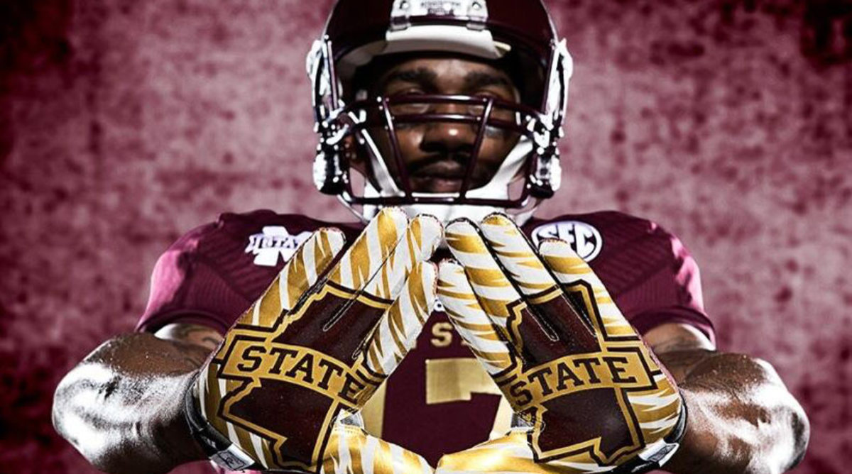 Mississippi State football alternate Egg Bowl jersey