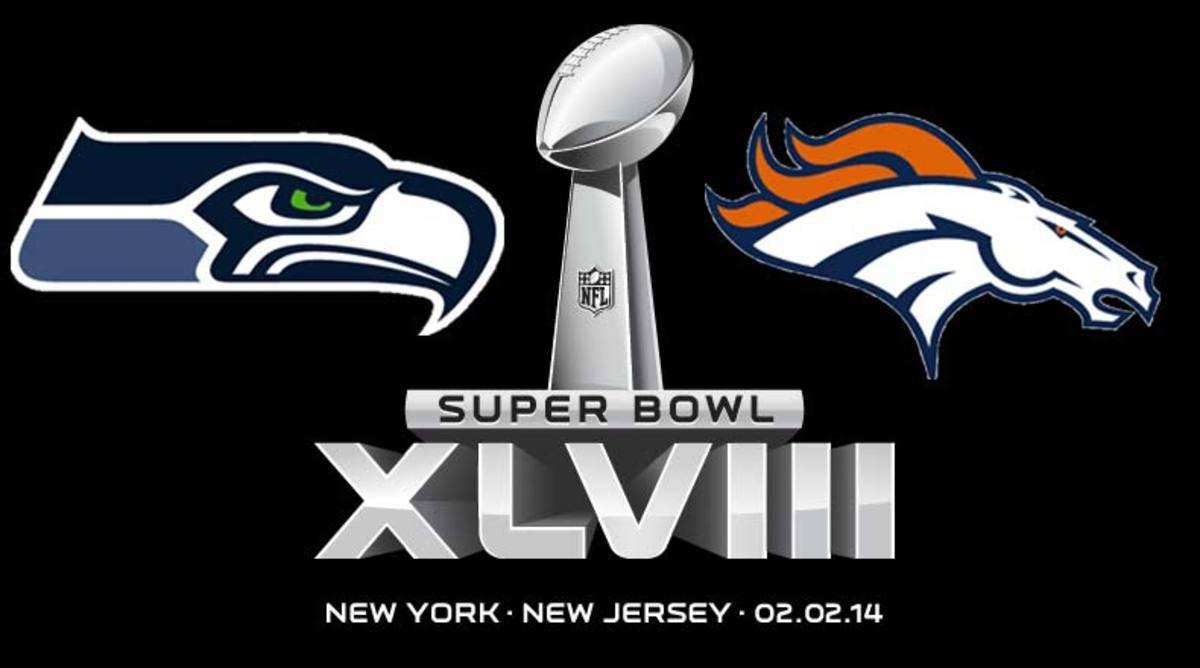 Super Bowl XLVIII Seattle Seahawks vs. Denver Broncos