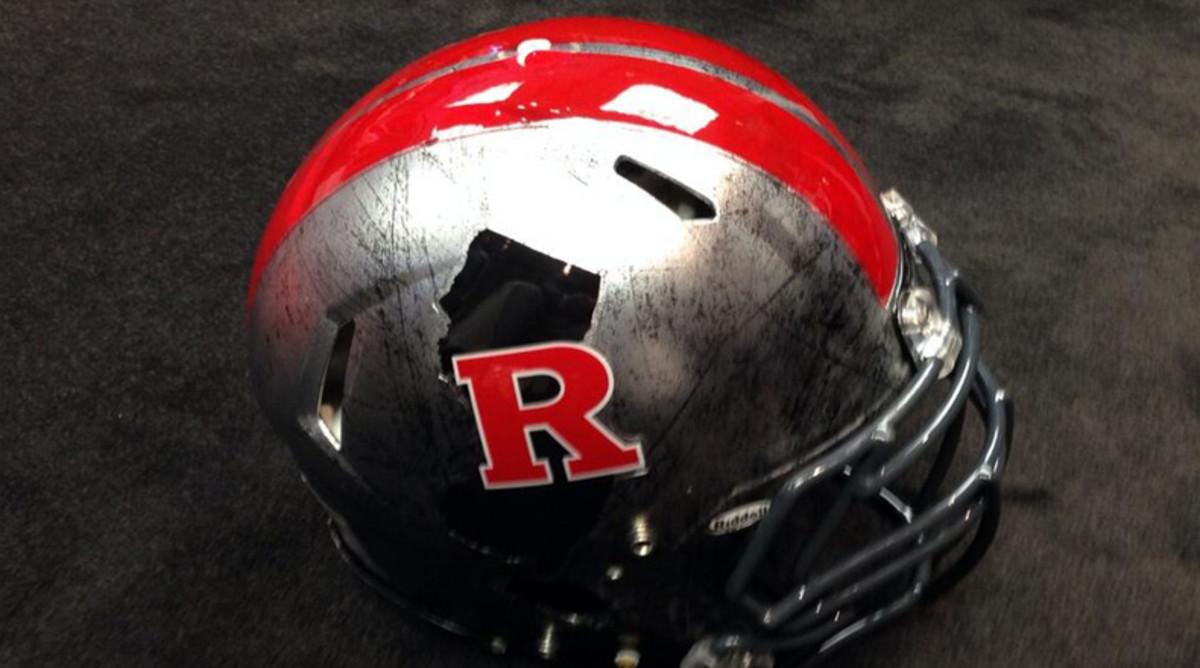 Rutgers alternate helmet