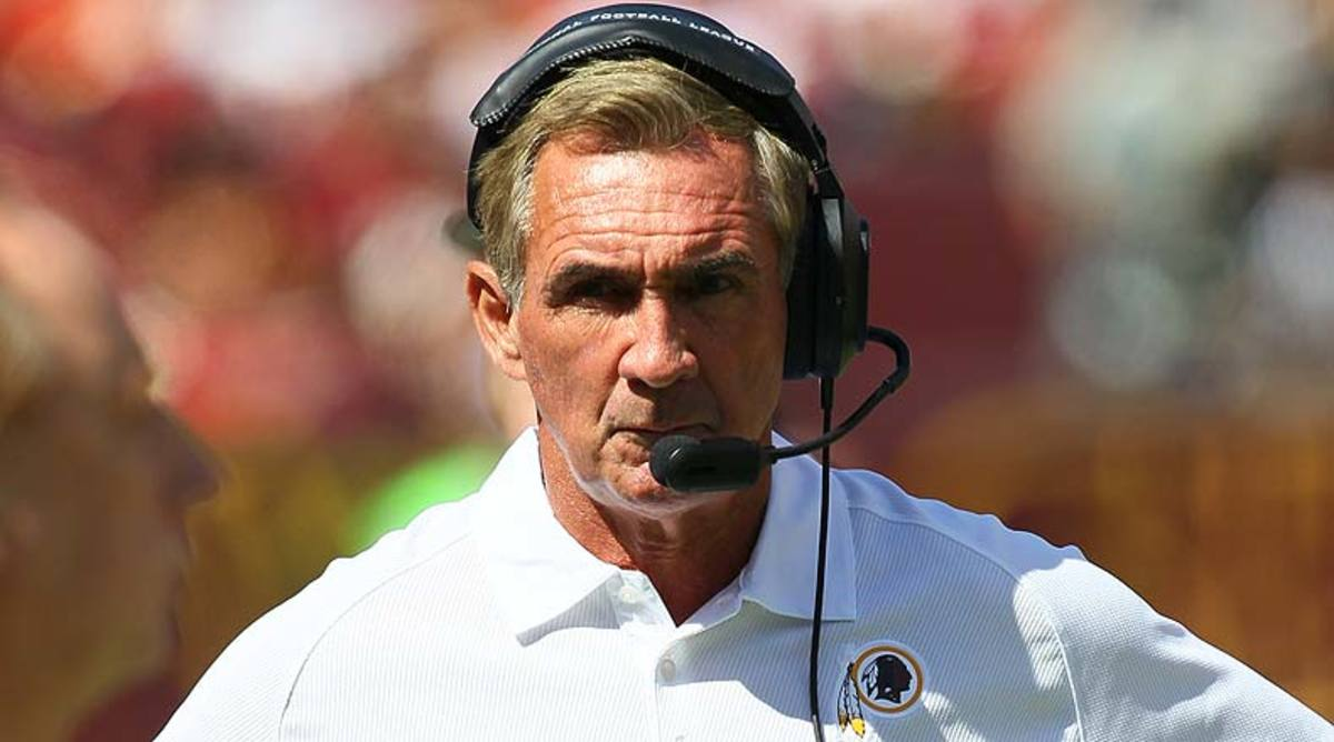 Shanahan leaves the Redskins with a 24-40 record in four seasons