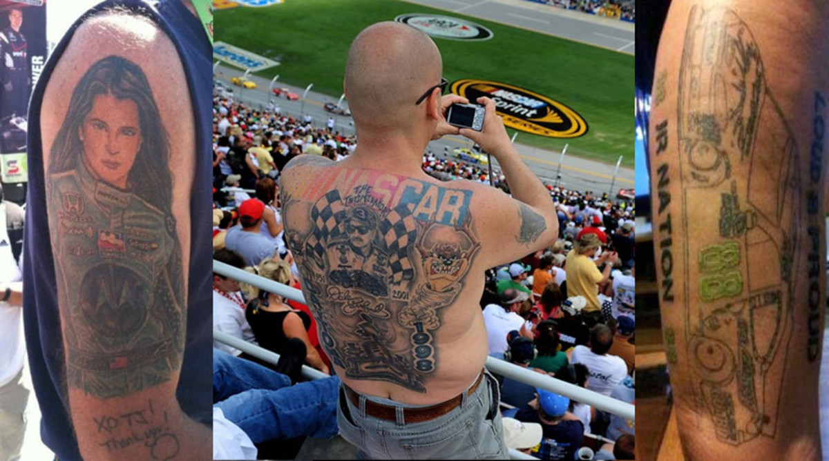 21 Best and Worst NASCAR Tattoos Ever