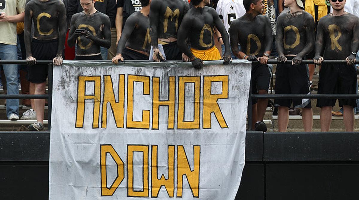 Vanderbilt Commodores fans