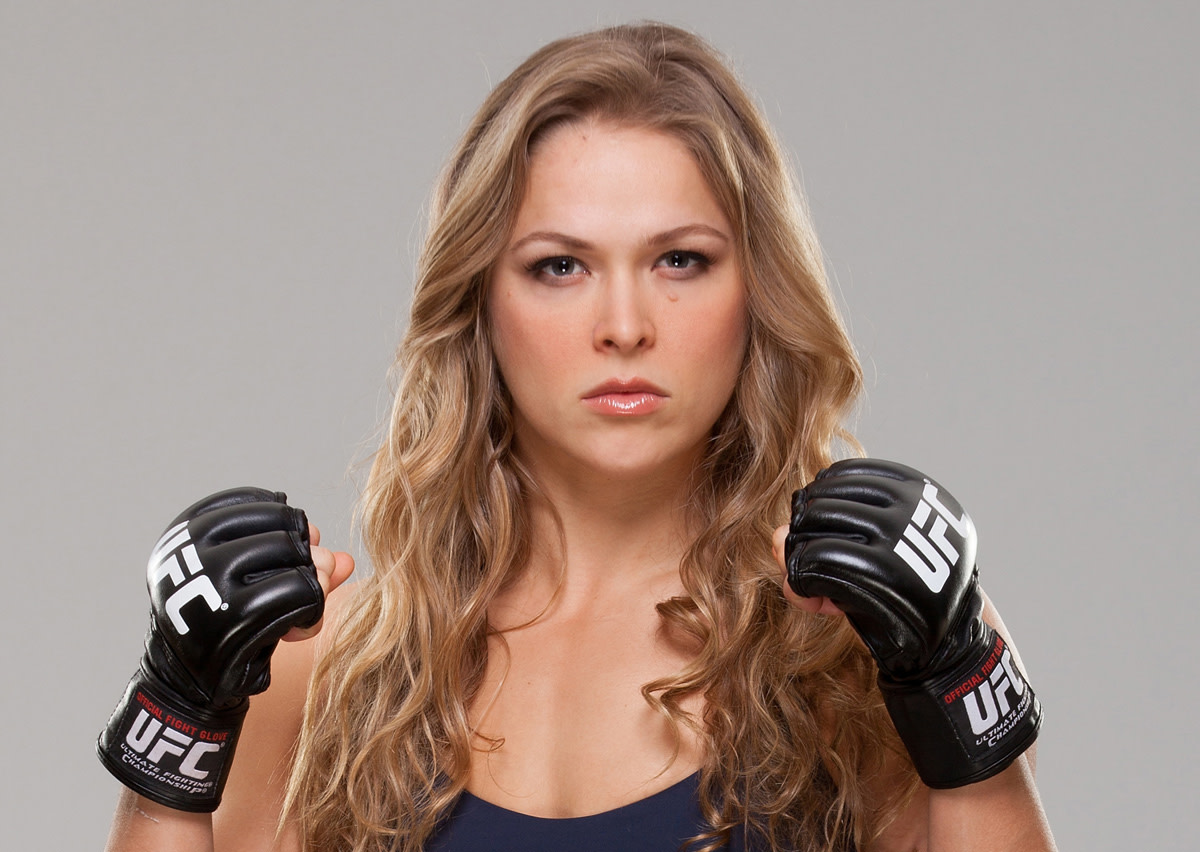 UFC Champ Ronda Rousey