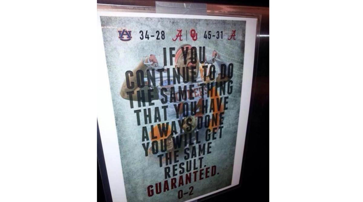 Alabama motivational poster