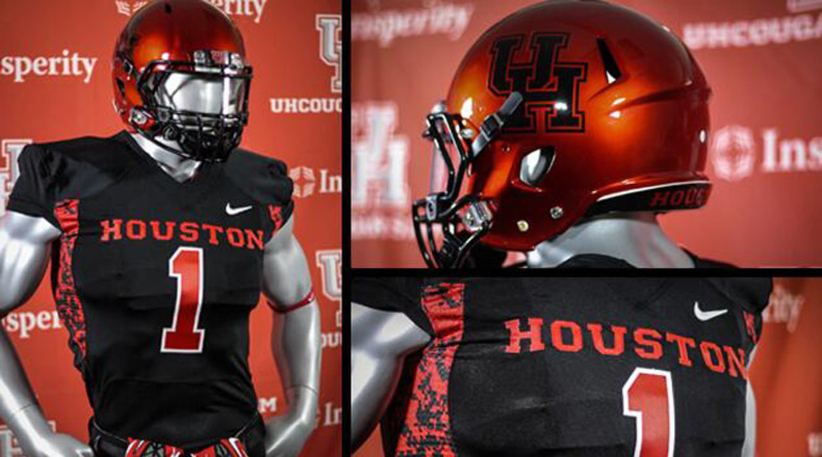 Houston Halloween uniforms