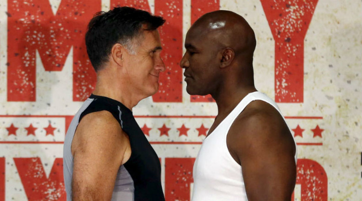 Mitt Romney Set to Fight Evander Holyfield, Says He'll Stay Away From Ears