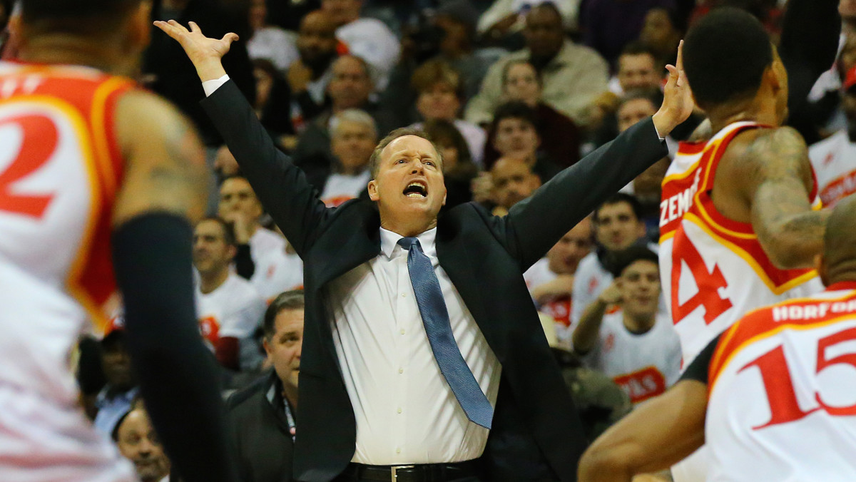 Hawks' Coach Mike Budenholzer