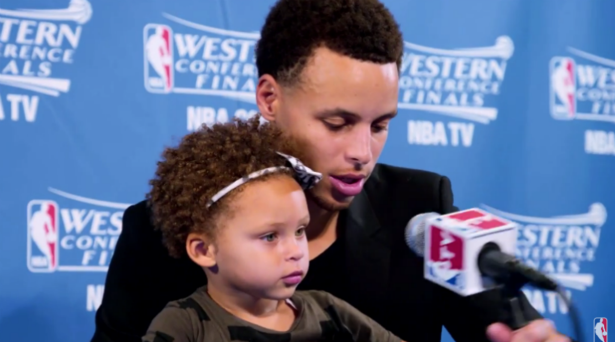 The NBA Releases Awesome Video of Steph Curry and His Daughter