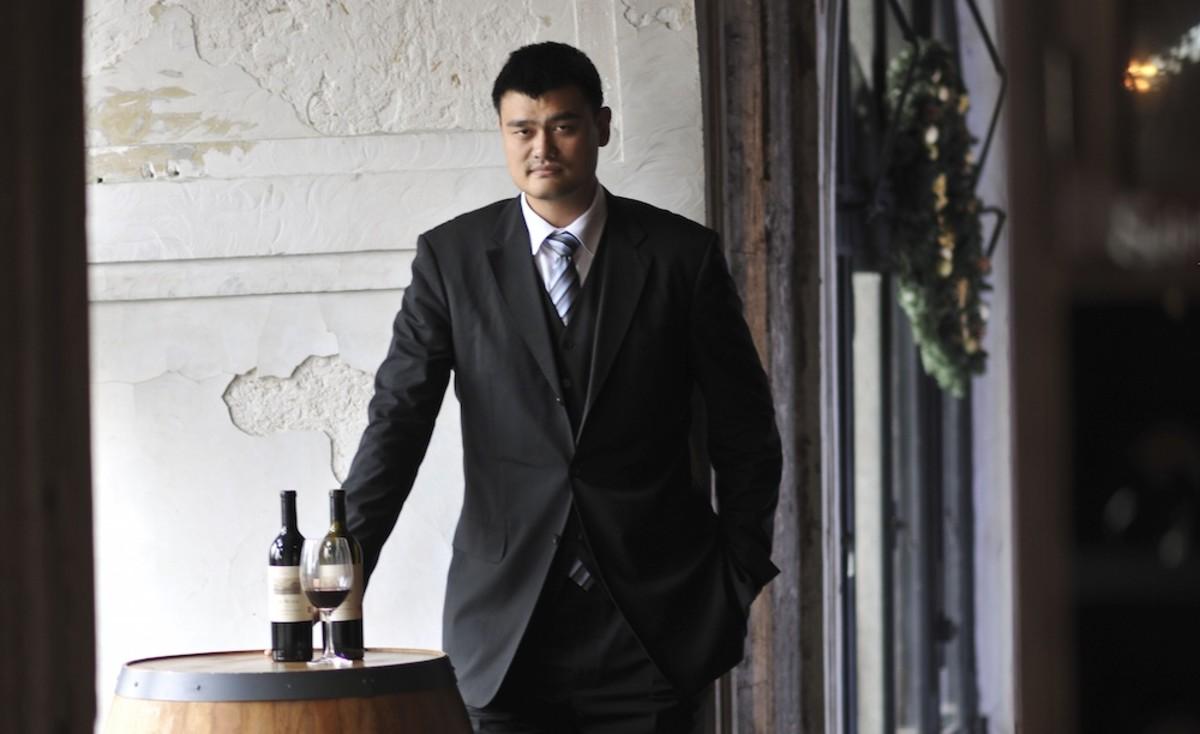 NBA Legend Yao Ming Talks Family Wines