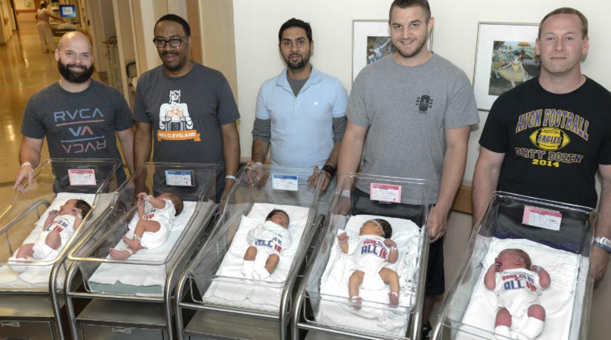 Cleveland Clinic Dresses Newborns Up in NBA Finals Swag