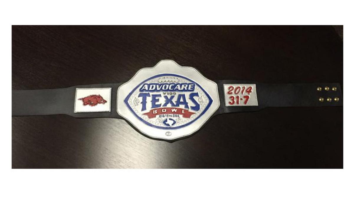 Bret Bielema championship belt