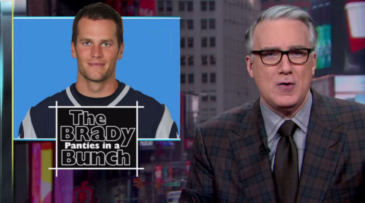 Keith Olbermann Wants Tom Brady to be Suspended for One Year