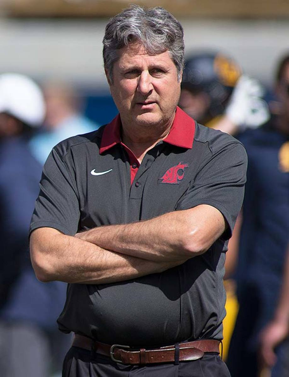 Washington State Head Coach Mike Leach