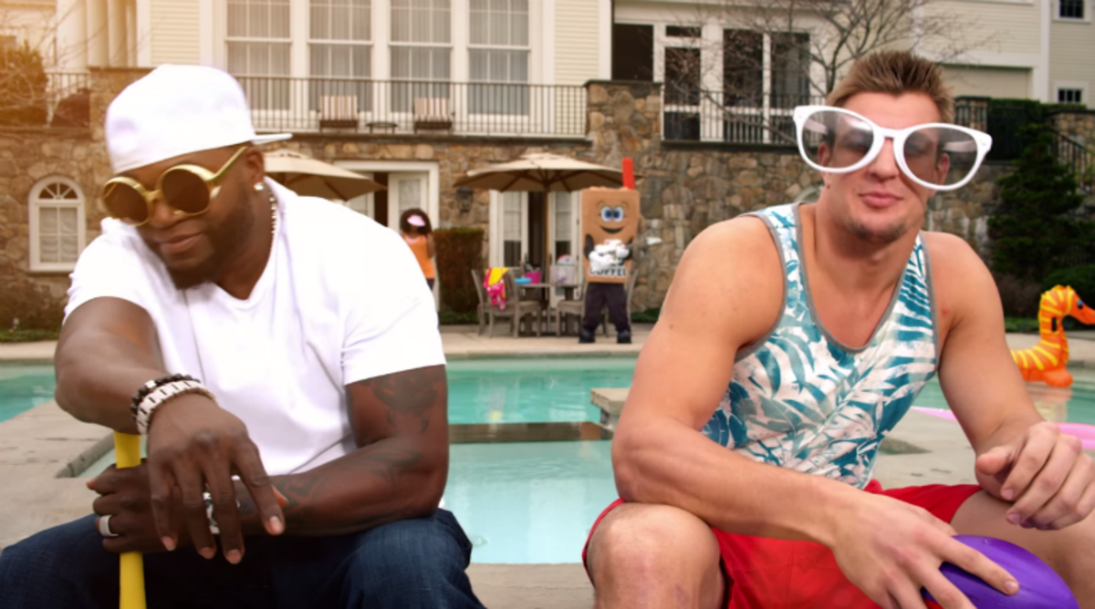 Rob Gronkowski, David Ortiz Rap in New Music Video