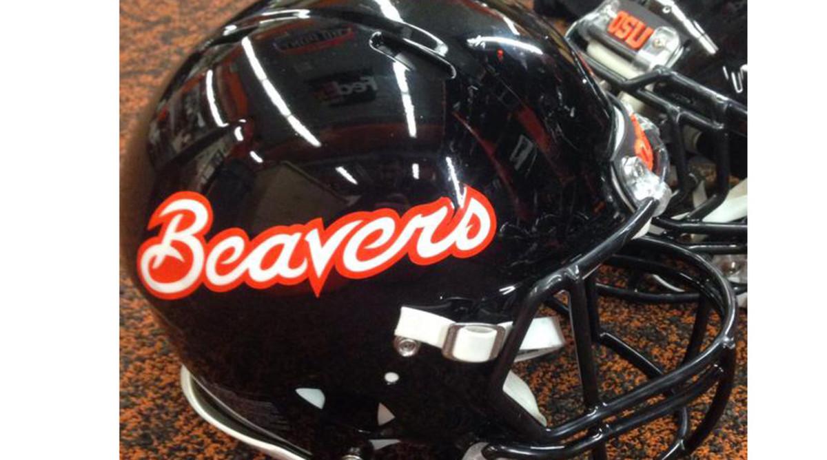 Oregon State helmet