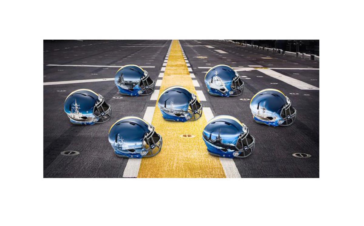 Navy Midshipmen helmet 2015
