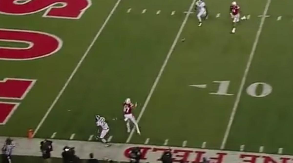 Nebraska Cornhuskers touchdown Michigan State