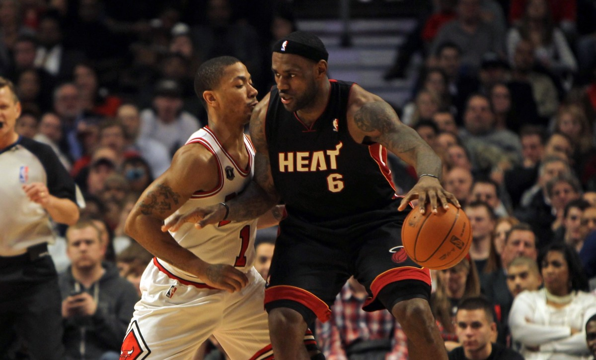 LeBron, Cavaliers Face Off Against Derrick Rose and the Chicago Bulls Tonight